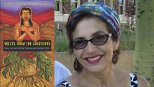 "Lara Medina, autora de ""Voices from Ancestors"". Photo: The Chronicle."