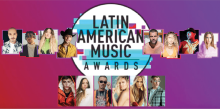 Latin AMA's 2021 poster and some of the nominees. Efe