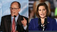 Tom Pérez (Der) and Senator Catherine Cortez Masto (Left) are the Latinos at the center of the transformation of the Democratic Party.
