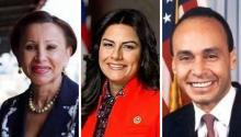 Rep. Nydia Velázquez, Rep. Nanette D. Barragán, and Rep. Luis V. Gutierrez, extended their hand in support of Deputy Director Andrew McCabe after being fired by the Trump Administration.