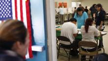Latino voters will grow in electoral power by the year 2020. David McNew/Getty Images