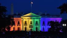 Una de las comunidades ganadoras en estas elecciones de 2020 ha sido la comunidad LGBTQ, con un aumento significativo de su representación en las mesas de toma de decisiones.Mladen Antonov/AFP vía Getty Images, ARCHIVO.
