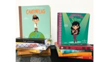 Títulos recientesde la editorial Lil' Books, una editorial de librosbilingüespara niños que crearon en 2014 dos madres de origen mexicano en Los Angeles. Foto: Facebook
