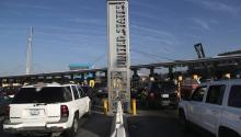 The port of entry to San Ysidro, California. PHOTO: JOHN MOORE / GETTY IMAGES