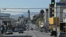 TheNew Urban Crisis is most severe across the Boston-New York corridorand on the West Coast—especially around San Francisco and Los Angeles. Photo: A view of L.A/ Wikimedia