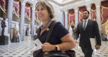 La Representante del Primer Distrito del Congreso en Nuevo México, Michelle Luján Grisham. Foto:J. Scott Applewhite/AP)