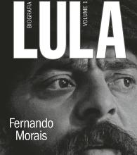 "Cover of ""Lula"", a biography written by Fernando Morais."