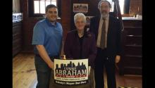 Twitter photo by Lynne Abraham's campaign.