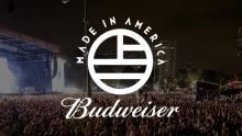 Promotional photo for Budweiser Made In America Festival.