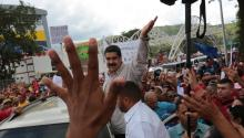 "Venezuela president, Nicolás Maduro, a populist, said on Sunday that president Obama was a ""despicable"" person for talking nonsense against Venezuela. EFE/Palacio de Miraflores"