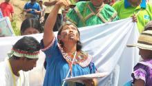 Ceremonia anual de Mama Tatda, en Panamá.Photo: Twitter