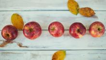Una manzana al día puede ayudarte a reducir tus niveles de colesterol