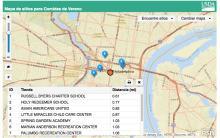 El Programa de Comidas de Verano estrena mapa interactivo en español