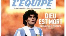 Así abría L'Equipe su edición en papel del jueves.