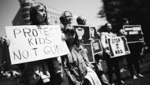 """Los estudiantesque sobrevivieron al sangriento tiroteo en un instituto de Florida han decidido plantar cara a la administración Trump. Foto: """"March for our lives"""" Facebook page."""