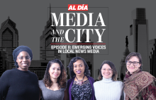 Cassie Owens, Joy Soto, Danielle Jeter, Mariela Morales Suárez, and Emily Neil discuss the future of local news media, professional dynamics in the newsroom, and the importance of representation in journalism.