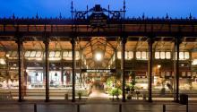 El Mercado de San Miguel es unode los másconocidos de Madrid. Foto: mercadodesanmiguel.es