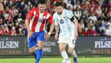 Argentina's Lionel Messi palyed against Paraguay. Photo: Getty Images