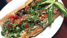 Mexican cheesesteak. Photo: Eli Siegel