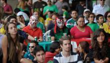Los nacidos en Mexico residentes en el extranjero tienen derecho a votar en las presidenciales. Mexicanos residentes en Brasilia. Foto: Wikimedia/Commons