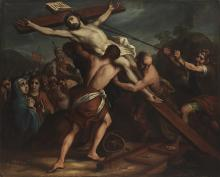 The Elevation of the Cross,  Antonio de Torres, 1718. © Museum Associates/LACMA