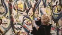 El gran precursor del muralismo, José Clemente Orozco, fue el maestro de Jackson Pollock.Foto:Adam Berry/Getty Images.