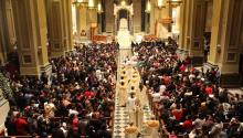 The Feast of Our Lady of Guadalupe gathers 1,500 faithful