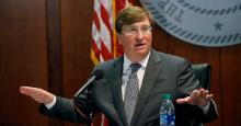 Governor Tate Reeves. Photo of AP