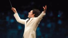 Gustavo Dudamel. Taken from soundtrackfest.com
