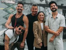 Los Montaner darán su primer concierto juntos este sábado en República Dominicana.