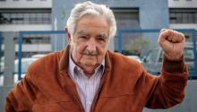 Former Uruguayan President Pepe Mujica. Photo: AFP.