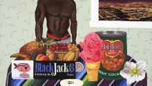 Joey Terrill, Black Jack 8, 2008. Photo: Museo del Barrio