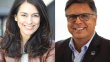Noerena Limón (Left) is the Senior Vice President of Public Policy and Industry Relations and the National Association of Hispanic Real Estate Professionals (NAHREP). Gary Acosta (Right) is a co-founder of L'Attitude. He has also founded or co-founded several mortgage, real estate and technology companies.