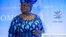 Ngozi Okonjo-Iweala. FOTOGRAFÍA: Martial Trezzini/EPa-EFE/Shutterstock