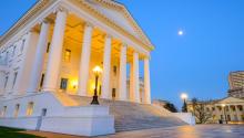Edificio del Capitolio del Estado de Virginia. FOTOGRAFÍA: Shutterstock