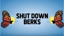 Shut Down Berks Artwork. Photo: The Action Network