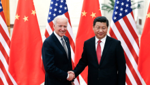 El Presidente Joe Biden y el Presidente Xi Jinping. FOTOGRAFÍA: Lintao Zhang/Xinhua/Associated Press