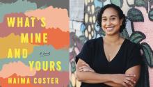 Naima Coster fue finalistadel Premio Kirkus de Ficción en 2018 por su primera novela Halsey Stree. Photo:Sylvie Rosokoff / NYT.