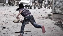 Una fotografía de Narciso Contreras tomada enla guerra de Siria, en 2013. Foto: Vimeo