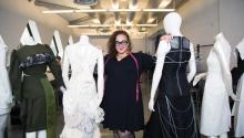 "Among those best and brightest featured in Netflix's new ""Next in Fashion"" series is Philly-based designer Nasheil Juliana Ortiz-González, chair of the fashion department at Moore College of Art & Design, whose work is informed by her Boricua identity and her commitment to sustainable, slow fashion. Photo: Samantha Laub / AL DIA News"