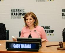 Gaby Natale, president of AGANARmedia. Photo: Newswire