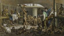 Inside a slave ship, Johann Moritz Rugendas. Photo: Wikipedia