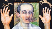 Nick Quijano,Ave María (En memoria de las víctimas delhuracán María), 2020. Photo: Cortesía del artista y de Fort Gansevoort.