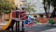 España es uno de los pocos países europeos donde se prohibía la salida de casa de los menores.David Castro / El Periódico.