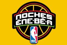 Logo for 'Noches ENE BE A'