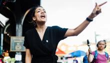 Alexandria Ocasio-Cortez, 26 de mayo de 2018. (Corey Torpie / Cortesía de la campaña Ocasio-Cortez)