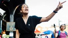 Alexandria Ocasio-Cortez, May 26, 2018. (Corey Torpie / Courtesy of the Ocasio-Cortez campaign)