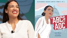 Alexandria Ocasio-Cortez has become a symbol for Latina women in the United States. Image: Getty Images.