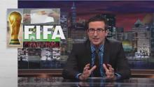 Who better to describe FIFA corruption than John Oliver?