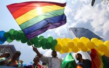 Pride month parade.File image.